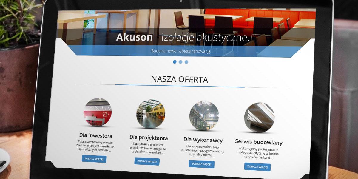 Strona WWW - Akuson