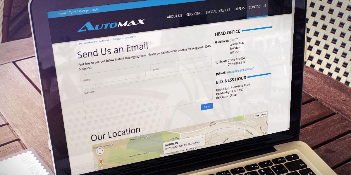 Strona WWW - Automax
