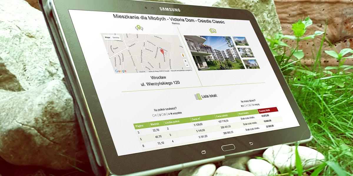 Aplikacja WWW - MdM Deweloper