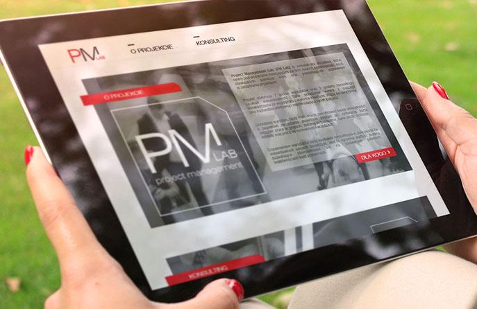 Strona WWW - PM Lab