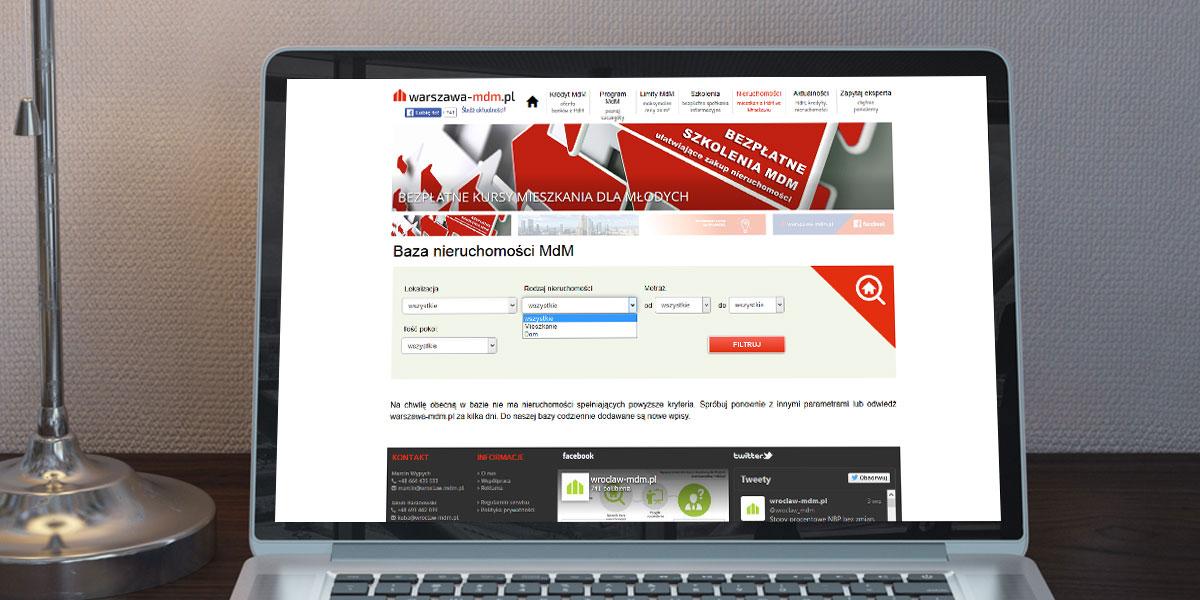 Serwis informacyjny - MdM Warszawa